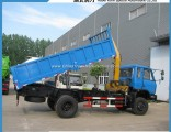 Dongfeng 4X4 All-Terrain Telescopic Boom Truck Mounted Crane for Sale with Self-Discharging Function