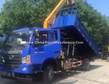 Forland 4X2 RC Crane Truck with Dump Function, Dump Truck with 3.2 Ton Crane