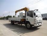 Promotion Isuzu 4X2 700p 190HP 3.2tons Mobile Truck Crane