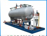 10tons LPG Auto Gas Tank Filling Skid Station for Nigeria Market