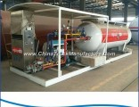 Clw Factory Direct Sales 10, 000L LPG Cylinder Filling Plant, 10cbm LPG Skid Station for Nigeria