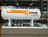 5m3 LPG Filling Plant, 20m3, 40m3 LPG Skid Station LPG Gas Station with Double Nozzle Dispenser for
