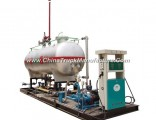 Mini 10cbm LPG Skid Station for Cooking Gas Refueling