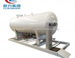 8cbm 4mt LPG Skids Station Portable Filling Plant for Nigeria