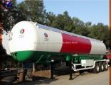 3 Axle 56000L LPG Tank Trailer 25tons LPG Trailer 20tons LPG Gas Trailer for Dubai
