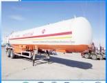 Heavy 40000L 20tons LPG Transport Tank Semi Trailer for Sale