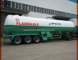 Clw Tri Axles 30tons LPG Tank Trailer for Gas Transportation