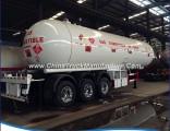 40000litres 20mt Liquid Propane LPG Transport Tank Semi Trailer