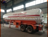 Heavy Duty 40.5cbm LPG Gas Tanker Trailers 20mt for Central Asia Market