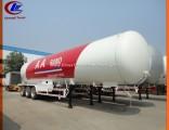 3 Axle LPG Tank Trailer LPG Tank Semi Trailer 59.52cbm Liquefied Petroleum LPG Tank 30mt for Niger M