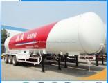 Tri-Axles 56000liters Liquified Petroleum Propane Gas LPG Tanker Semi Trailer 25tons