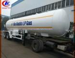 Quality Steel 40000L 20mt LPG Tank Trailer