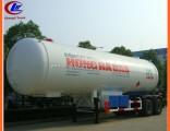 Heavy Duty 2 Axles  Standard LPG Gas Tanker Semi Trailers 40.5cbm for Sale