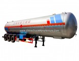 Trailer Type Cooking Gas Transmission Road LPG Tanker Truck