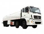 12wheel 290HP 25000liters Dongfeng Heavy Water Tanker Truck