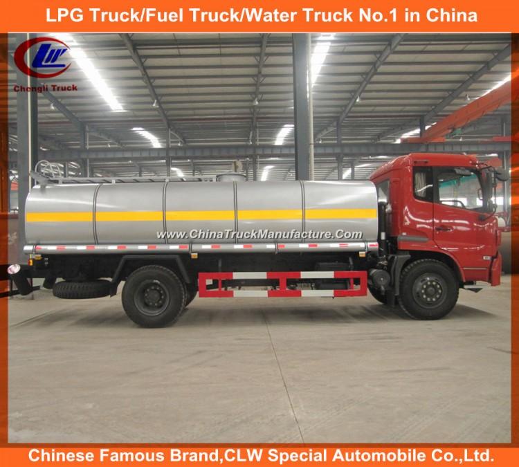 170HP Dongfeng Tianjin Fuel Tank Transport Truck