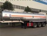 Tri-Axle Chemical Liquid Semi Trailer, HCl Liquid Container Trailer