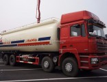 Dry Bulk Cement Tank Truck 12 Wheels Chemical Transport Truck