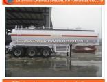3 Essieux Chimique Liquide Reservoir Semi Remorque