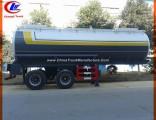 30m3 Chemical Liquid Trailer for 20m3 Acid Delivery Tanker
