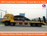 Cargo Transport 40ft Dongfeng 8*4 Flatbed Transport Trucks