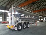China Factory 3 Axles Dry Bulk Cement Powder Semi-Trailer