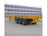 40ft Heavy Duty 3 Axle Skeletal Container Transport Trailer