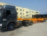 40FT Heavy Duty 3 Axle Skeletal Semi-Trailer for Container Transport