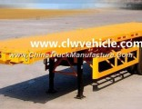 Heavy Duty 50 Tons 3 Axles Container Semi Trailer