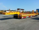 Tri-Axle 20FT 40FT Low Flatbed Low Flatbed Semi Trailer