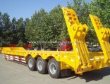 3 Axle Flat Low Bed Truck Trailer