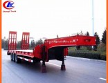 Machinery Low Loader Trailer 45ton Lowbed Semi Trailer for Algeria