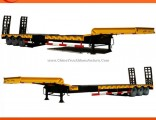 3 Axles Low Bed Semi Trailer for Sale