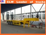 Exported African 3 Axle High Tensile Semitrailer Tri-Axle