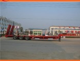 50ton Gooseneck Low Bed Semi Trailer for Cargo Transportation