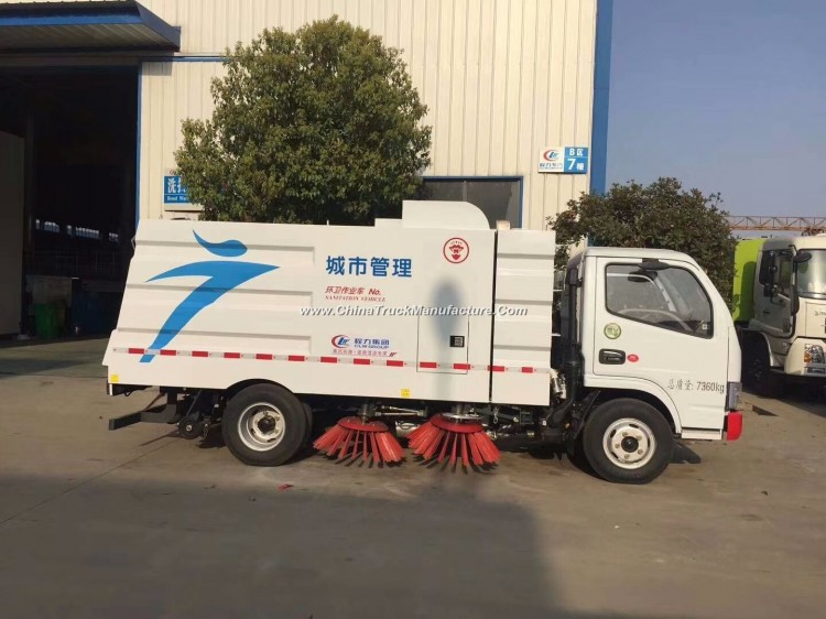 6m3 Road Sweeping Truck for Sanitation Project