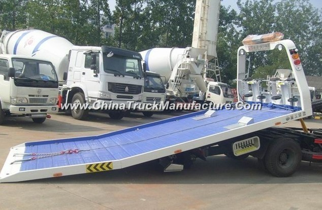 Mini JAC 4X2 2tons Flatbed Type Road Tow Wrecker Truck