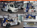 4X2 Mini 3t 4t 5t Tow Truck for Road Recovery