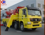 25 Tons HOWO 371HP Tow Truck for Chile Argentina Peru