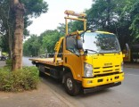 3ton 4ton 5ton Road Wrecker Tow and Crane Platform Wrecker Truck with Towing