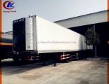 Tri Axle 45ton Refrigerated Van Semi Trailer with Thermo King Refrigeration Unit
