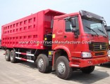 12 Wheels Dump Truck 35t Tipper Truck for Sale