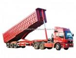 Heavy Duty Tri-Axle Dump Trailer 25cbm End Tipper Semi Trailer