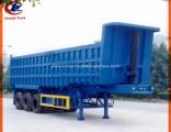 Heavy Duty 3 Axle 30cbm End Tipper Semi Trailer