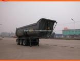 Heavy Duty 3 Axle U Shape Tipper Semi Trailer