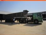 50ton Heavy Duty Mining Dump Semi Trailer