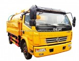 Dongfeng 8tons Sewage Suction Type Sewer Cleaning Truck