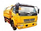 5cbm Vacuum Sewage Truck 4X2 Sewage Suction Tank Truck