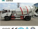 Top Quality Dongfeng 3-6 Cubic Meters 4*2 Concrete Mixer Truck
