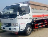 Hot Sale Dongfeng 4X2 6 Tires Oil Tanker Truck of 3m3 Fuel Tanker